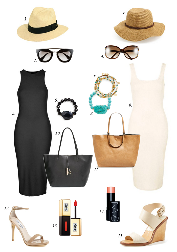 topshop, summer dresses, reversible tote, nordstrom, wedge sandals