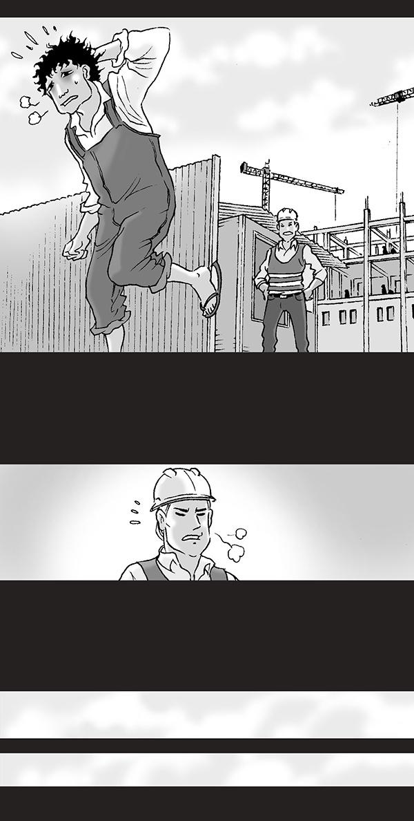 Silent Horror chap 43: An toàn lao động
