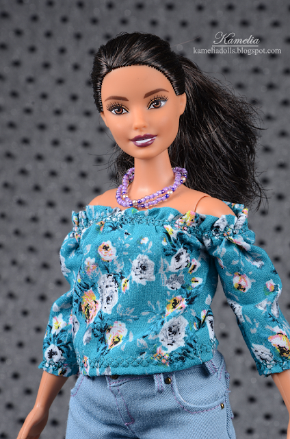 Barbie Fashionistas Doll 78 Floral Frills