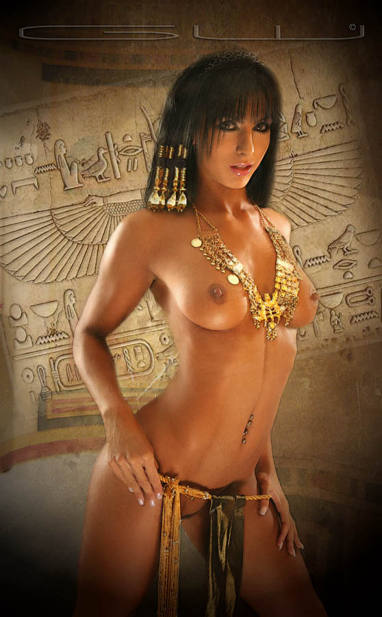 Ancient egyptian sexy lacing backless one