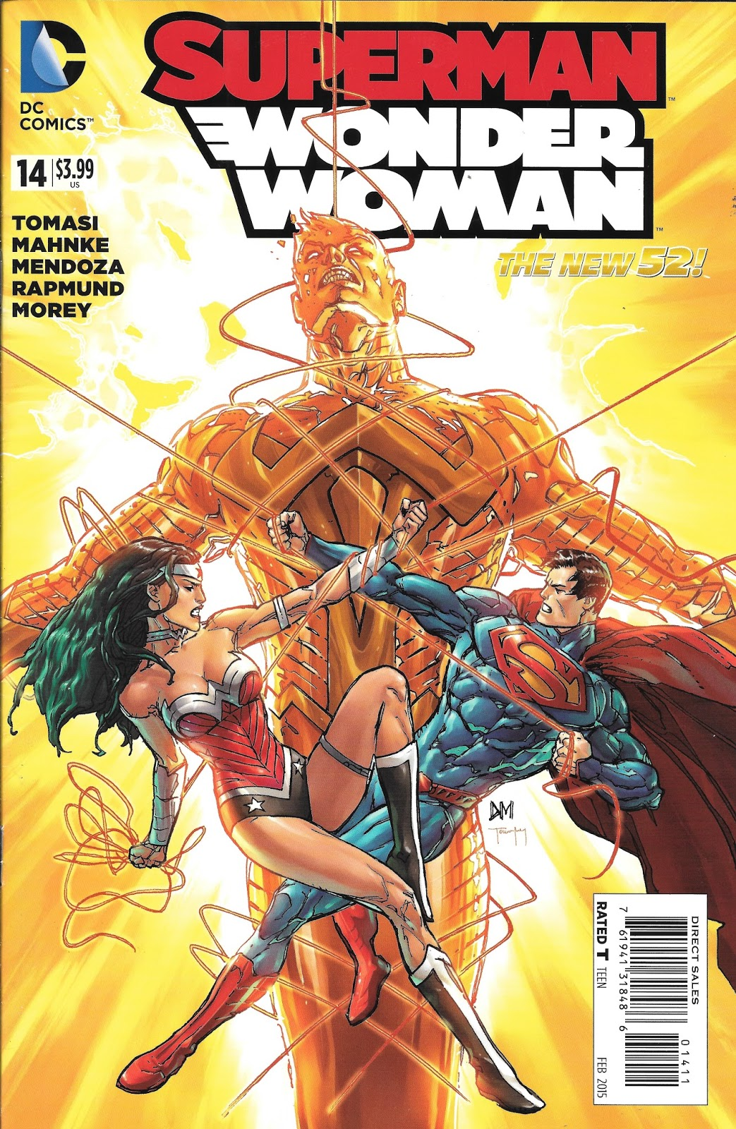 Superman Wonder Woman Son