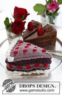 Gâteaux au crochet