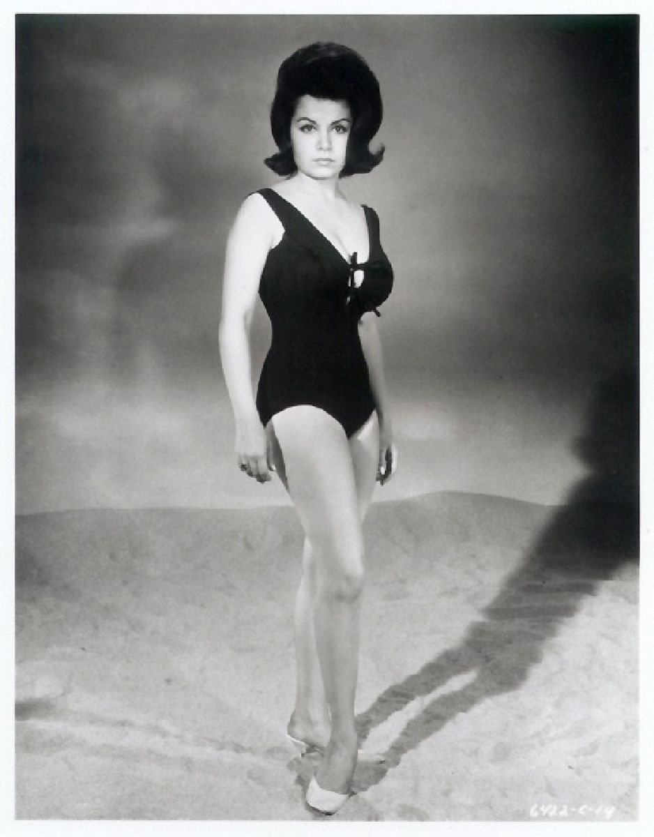 annette funicello beach movies - ... beach drive-in classics like BEACH BLANKET BINGO, HOW TO STUFF A WILD  BIKINI and MUSCLE BEACH PARTY, in which she was paired with Frankie Avalon.