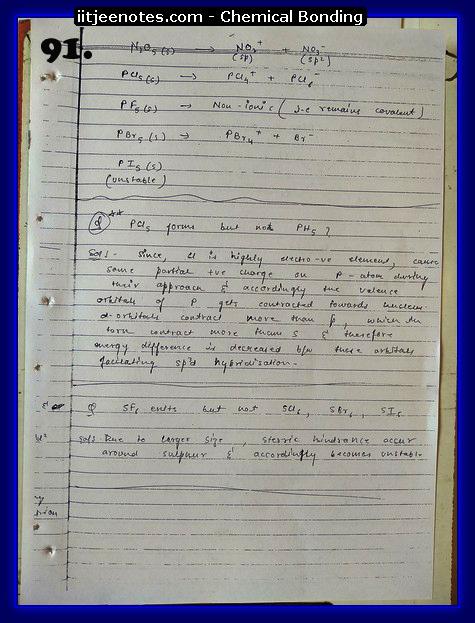Chemical-Bonding Notes chemistry19