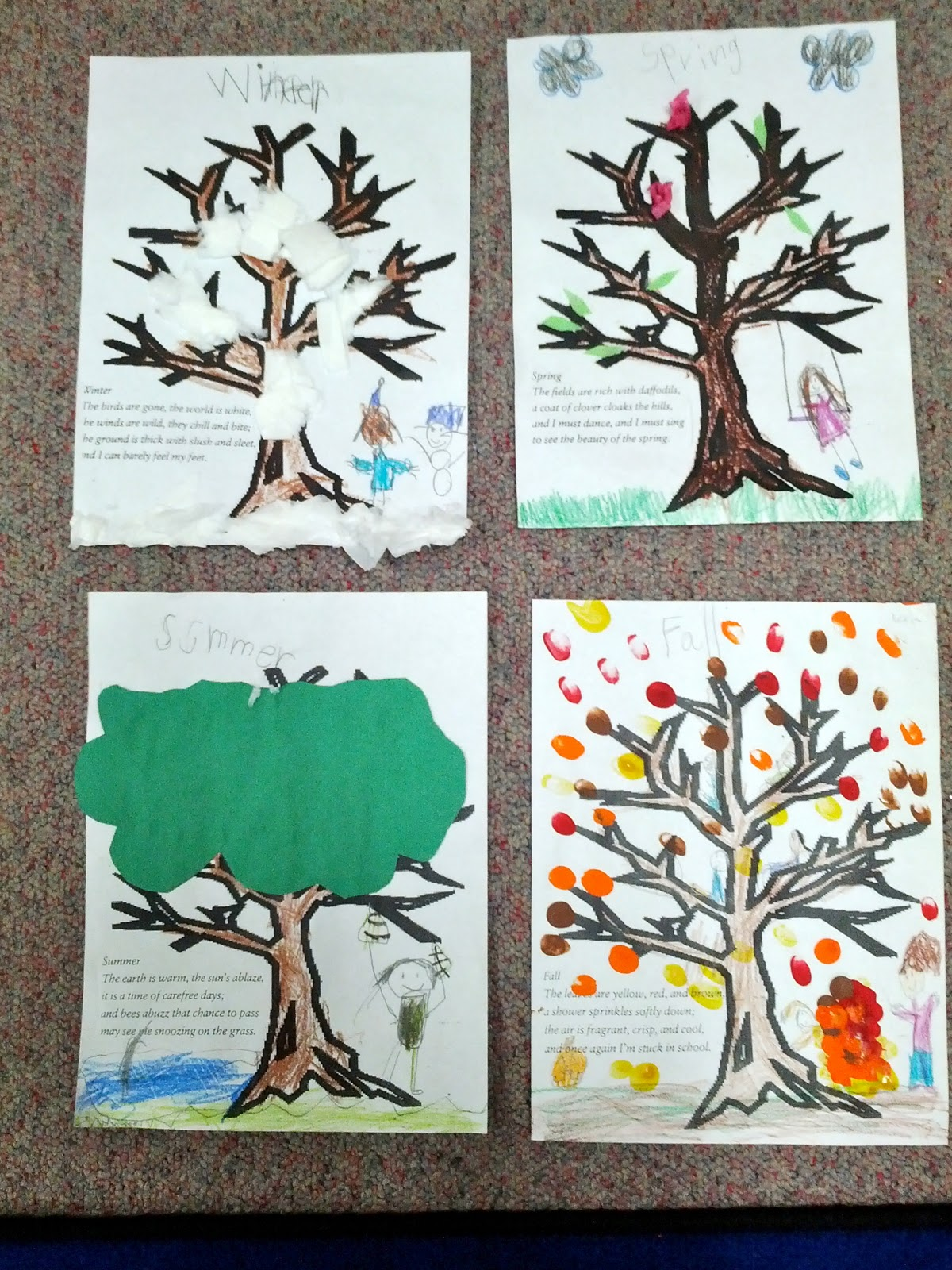 Four Seasons Tree Worksheet