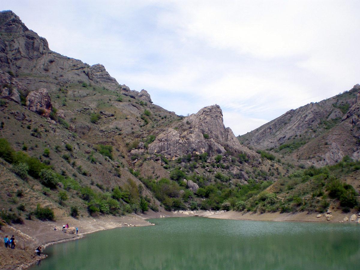 Озеро Панагия в Крыму
