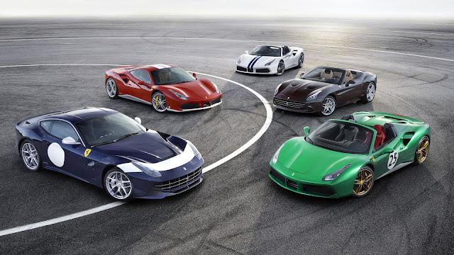Cinco Ediciones Especiales de Ferrari