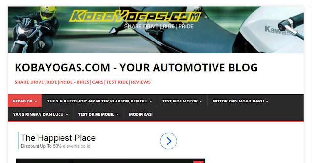Kobayogas.com - Blog Otomotif  Terbaik Di Indonesia