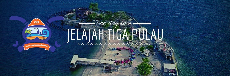 jelajah tiga pulau dalam sehari di pulau seribu