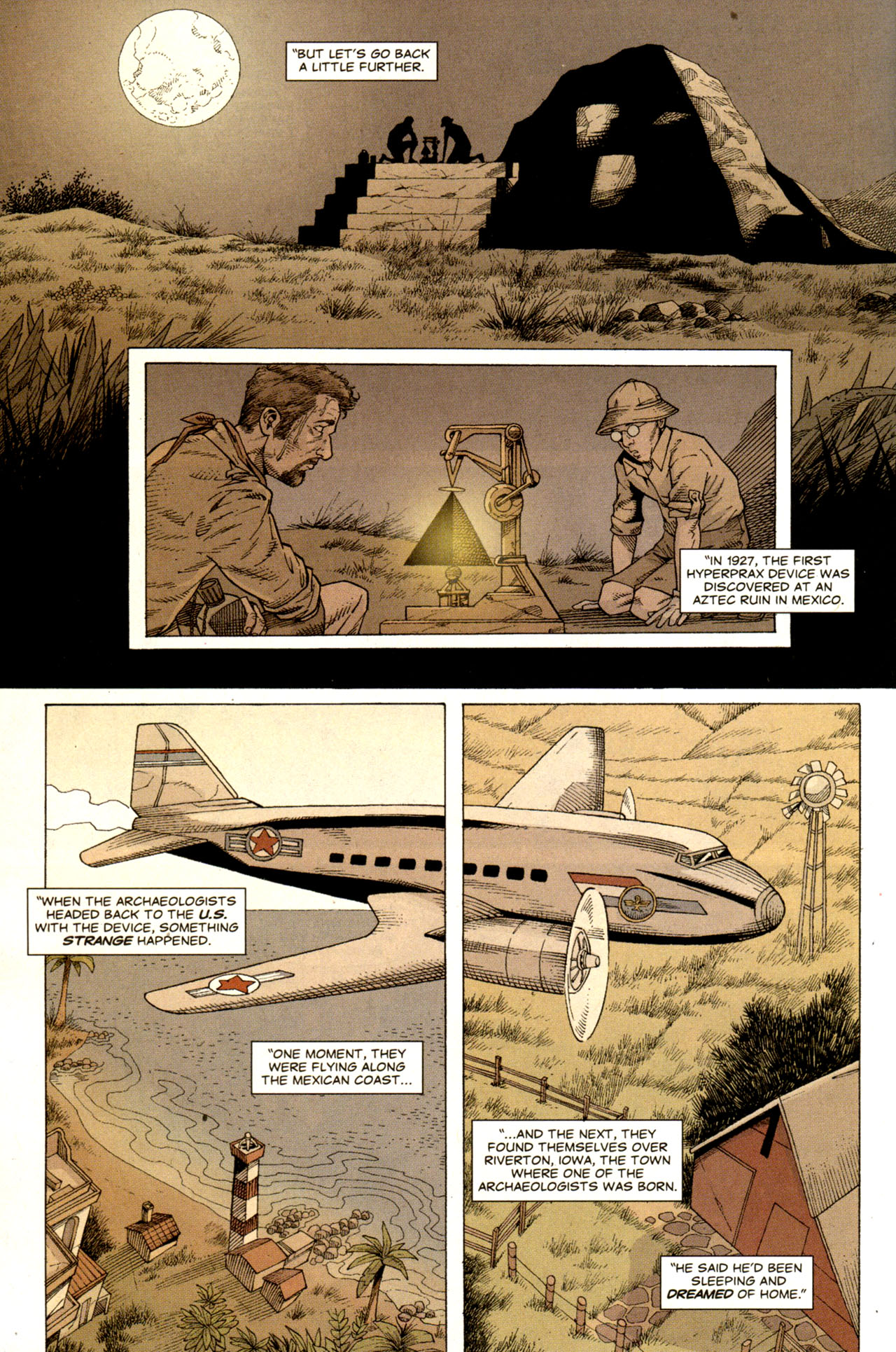 Read online Air comic -  Issue #6 - 5