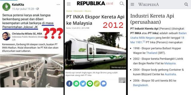 Klaim Pendukung Jokowi Terbantahkan, Makanya Rajin Baca Wikipedia!
