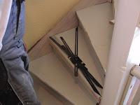 Treppenrenovierung - Die Treppenspinne