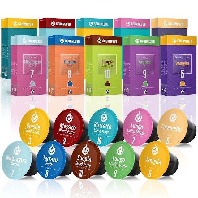 Gourmesso, Alternative Nespresso Capsules & Keurig K-Cup Compatible Coffee Pods