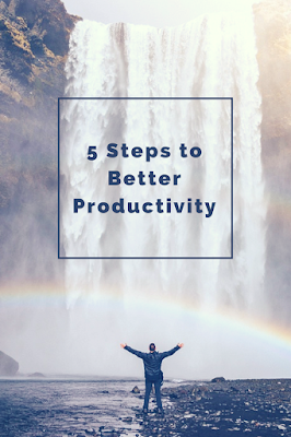 5 steps to better productivity