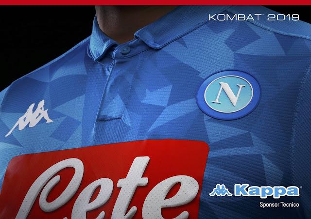 5a19e1191919b Nuova Kombat™ SSC Napoli 2019 Home Kit pantera e Kit portiere ...