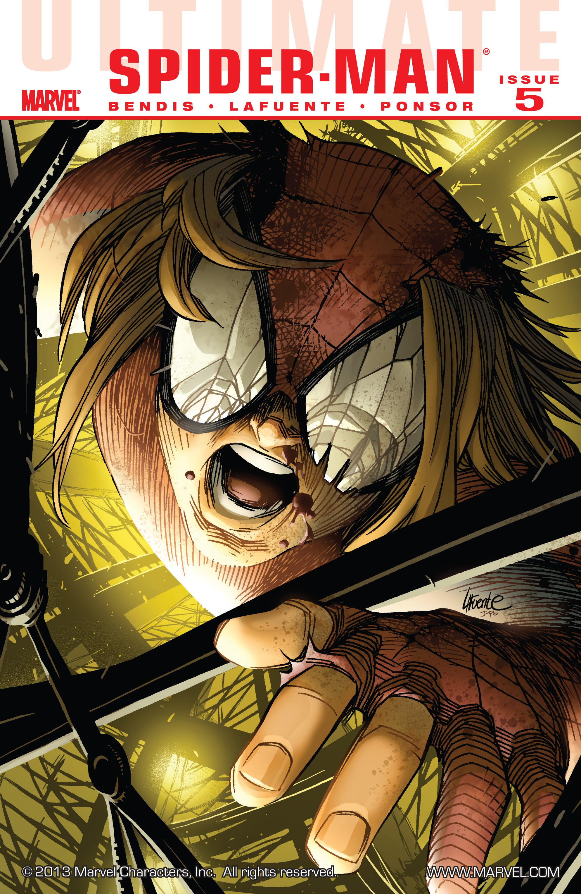 Read online Ultimate Spider-Man (2009) comic -  Issue #5 - 1