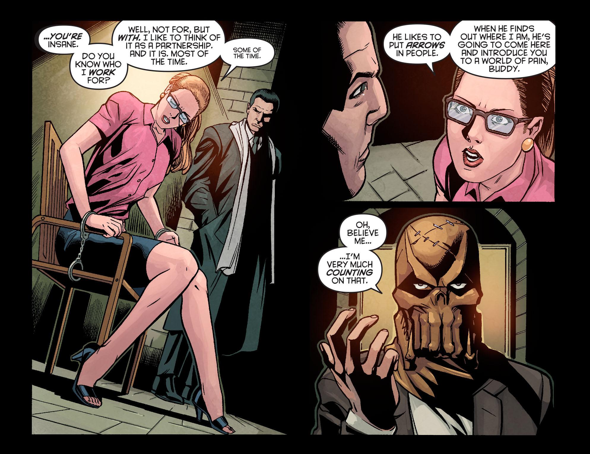 Read online Arrow: Season 2.5 [I] comic -  Issue #9 - 11