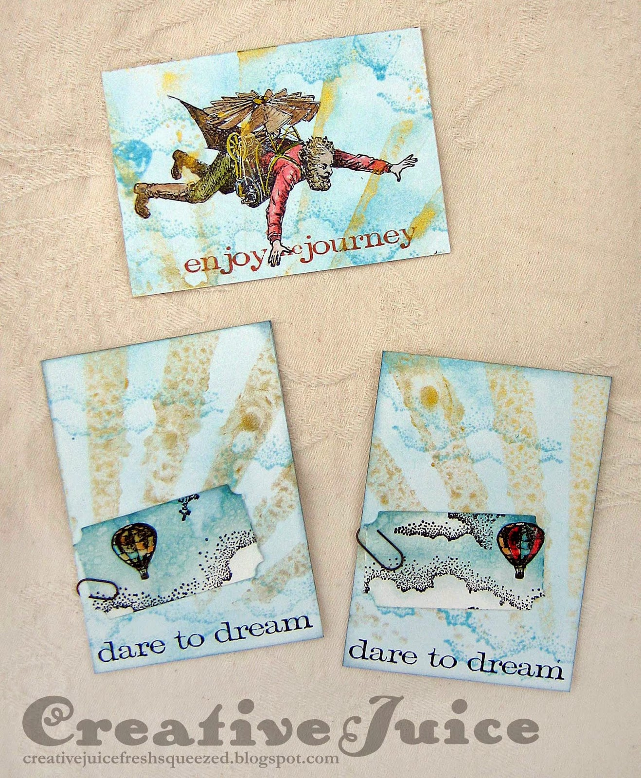 Lisa Hoel, ATCs - http://creativejuicefreshsqueezed.blogspot.com/