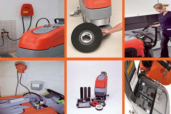 Bảo dưỡng thiết bị vệ sinh máy chà sàn