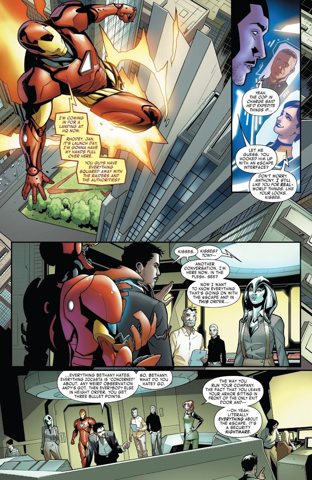 Read online Tony Stark: Iron Man comic -  Issue #6 - 12