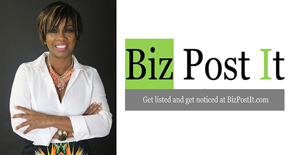 Cynthia Austin, co-founder of Biz Post It