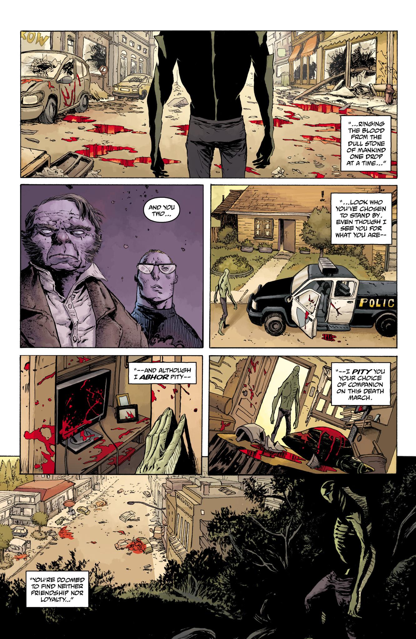Read online Abe Sapien comic -  Issue #11 - 17