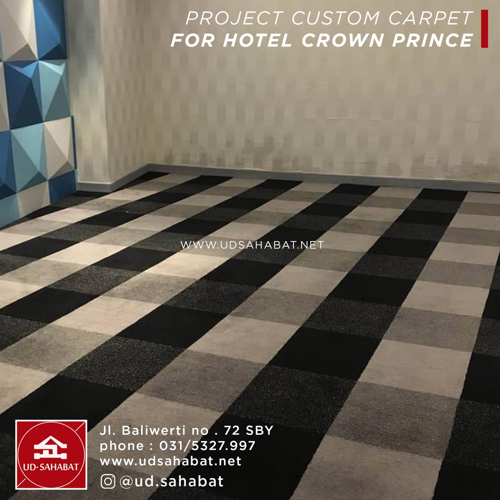 jual carpet untuk hotel surabaya UD SAHABAT baliwerti 72