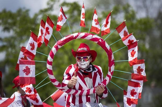 Happy Canada Day Parade And Celebration 2017