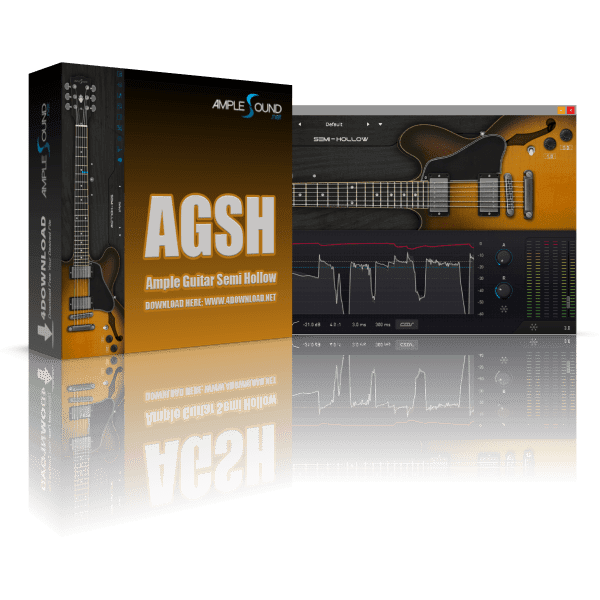 Ample Guitar Semi Hollow III v3.1.0 Full version