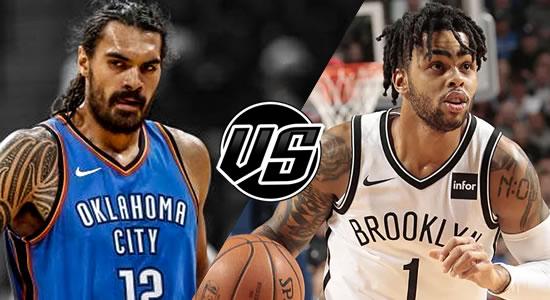 Live Streaming List: Oklahoma City Thunder vs Brooklyn Nets 2018-2019 NBA Season