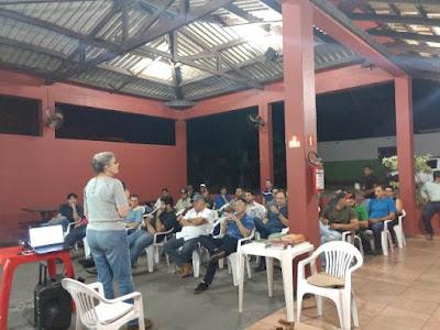 Dra Anita Gutierrez fala sobre rastreabilidade para bananicultores do Vale do Ribeira