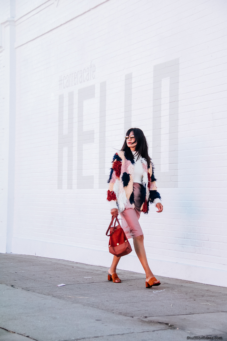 Slipdress, Revolve, cropped sweater, Faux fur, fashion blogger, top fashion blogger, best fashion blog, Taye Hansberry, fashion bloggers of color, black fashion blogger, bloggers with Bangs,