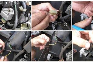 (100% benar) Cara Mudah merubah arus AC ke arus DC pada motor yang Harus anda pahami sebelum memasang lampu HID