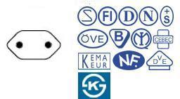 歐洲,韓國,歐規電源線,250V