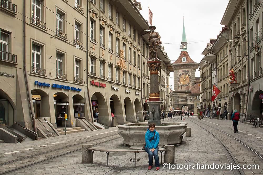 torre del reloj o Zytglogge en Berna, Suiza