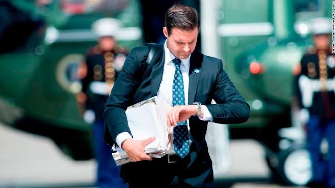 John McEntee, longtime Trump aide, fired over security clearance issue