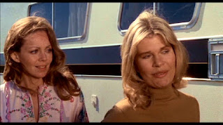 Lara Parker and Loretta Swit