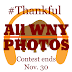 REMINDER: #AllWNYPhotos #Thankful contest ends Nov. 30