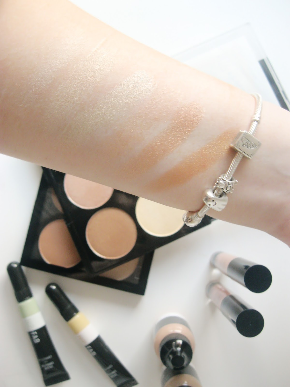 Nip and fab swatches