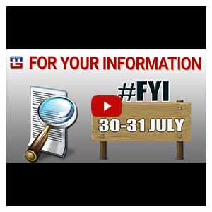 #Fyi | 30-31 July | History of the Day | 30-31 जुलाई का इतिहास