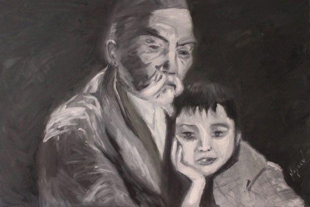 Киргизский художник. Канат Нагаев