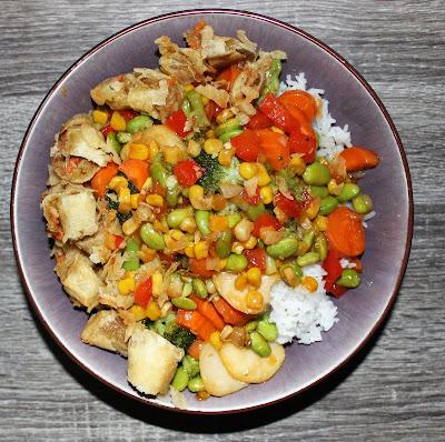 Vegan Stir Fry & Spring Rolls