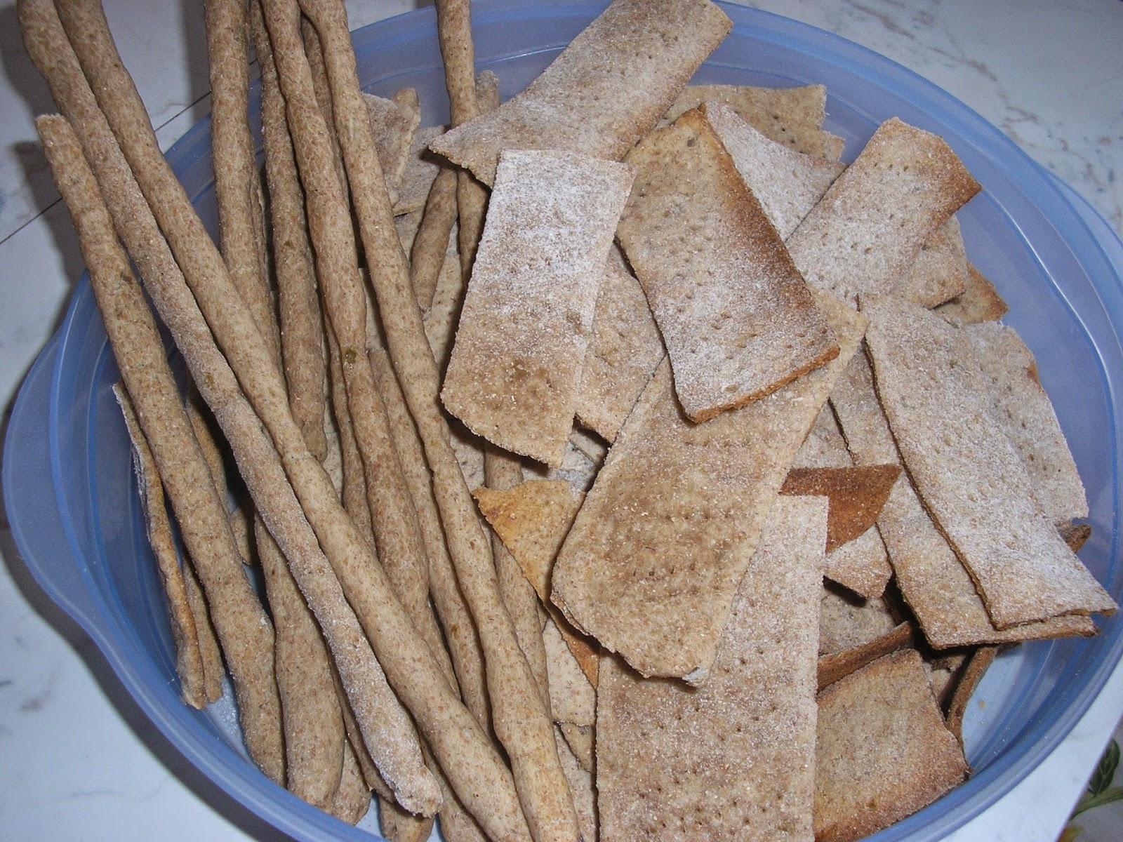 Cracker E Grissini Senza Lievitazione Veloce Facili Con Esubero Di