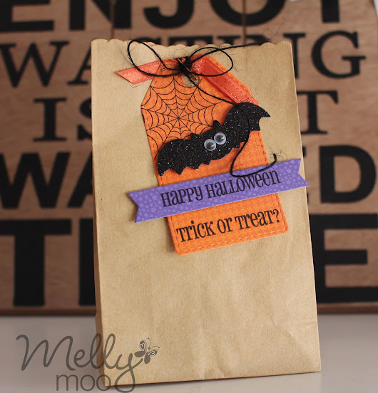 Super simple Halloween Treat Bag