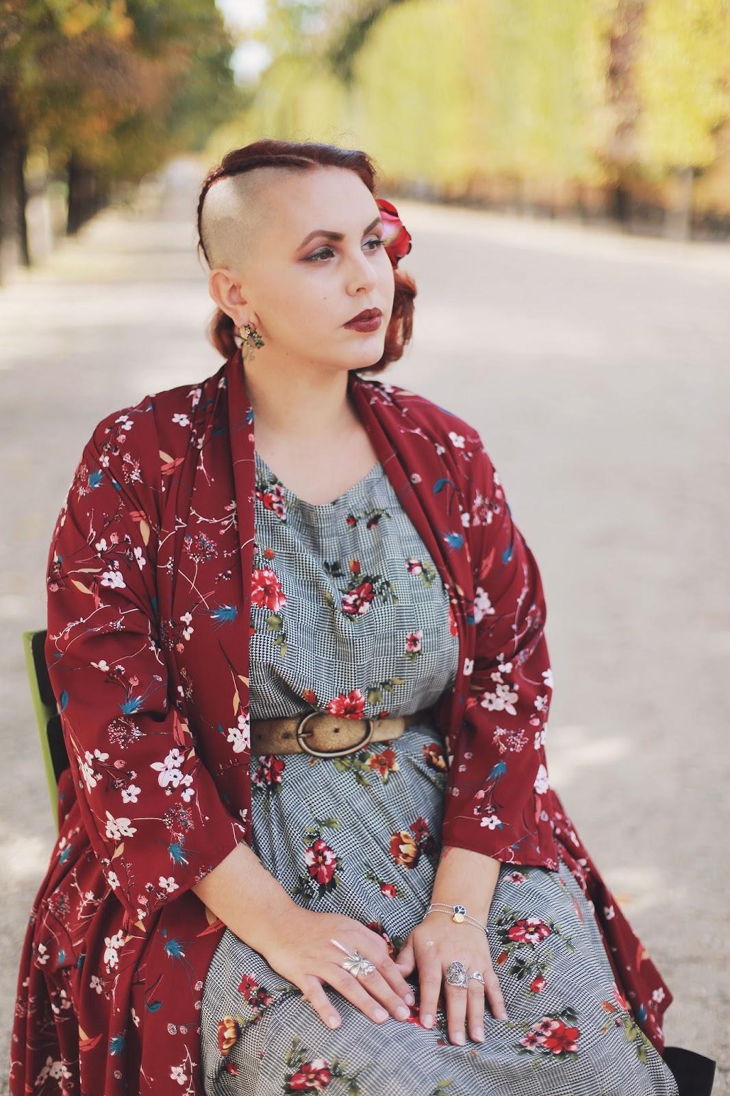 Kimono fleuri OW pour Lili la Tigresse