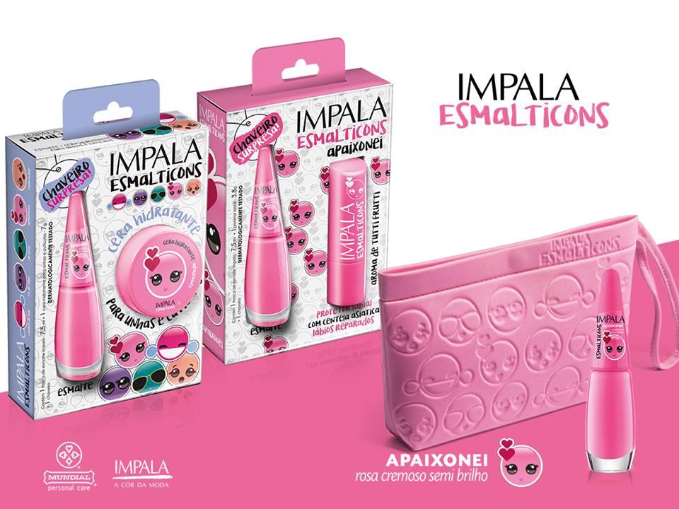 Esmalte Apaixonei :: Impala - Esmalticons - Resenha Outubro Rosa