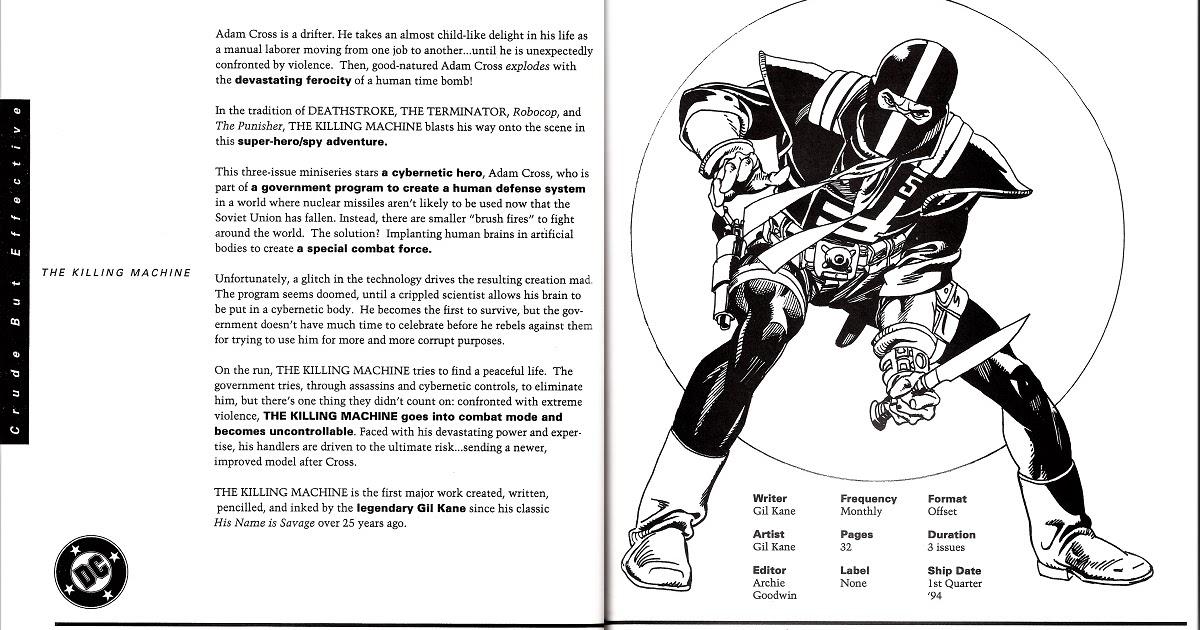...nurgh...: DC Comics 1993 Editorial Presentation: The