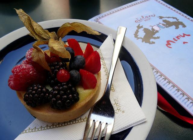 Fruit Tart at Peclard Zurich