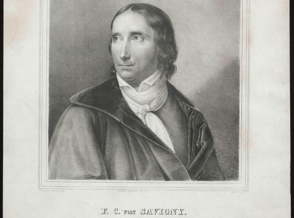Savigny, representante de la escuela historica