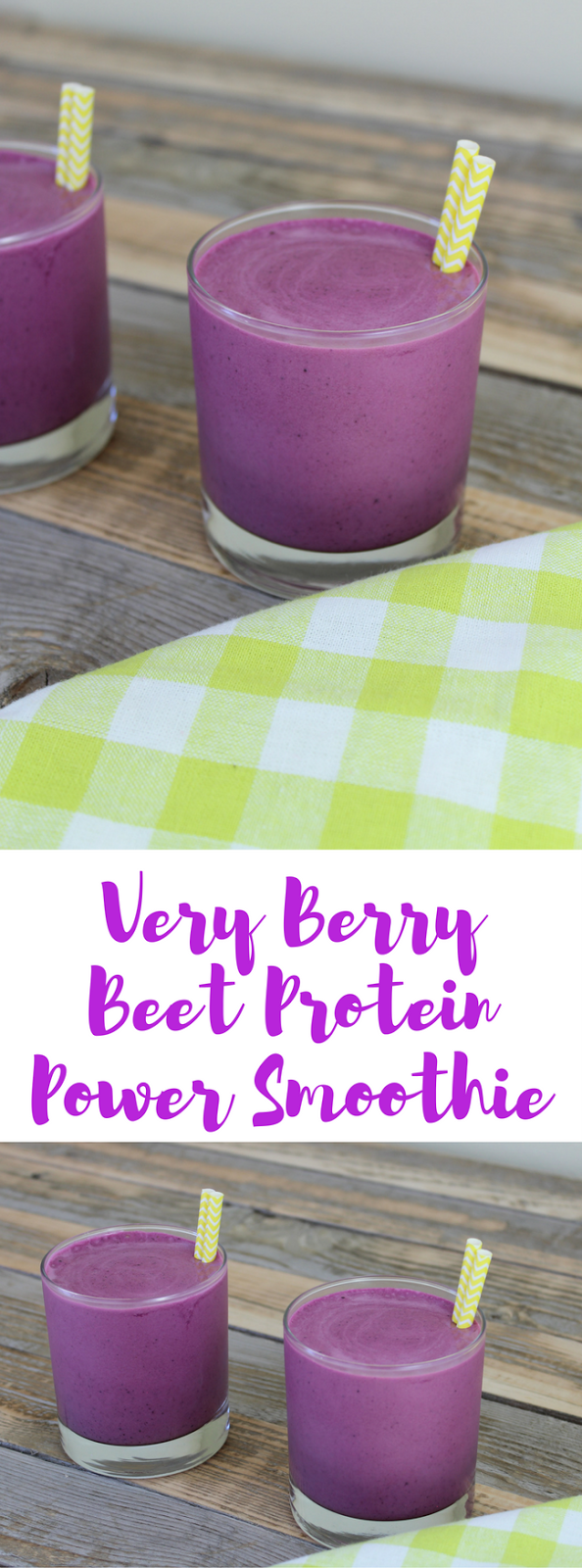 Very Berry Beet Protein Power Smoothie